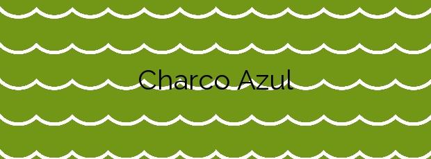 Información de la Playa Charco Azul en San Andrés y Sauces