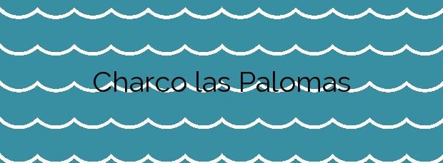 Información de la Playa Charco las Palomas en Arucas