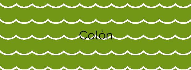 Información de la Playa Colón en San Javier