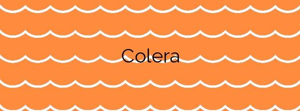 Información de la Playa Colera en Colera