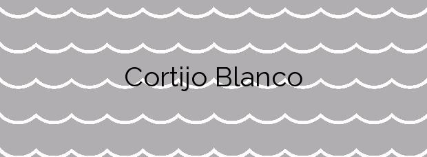 Información de la Playa Cortijo Blanco en Marbella