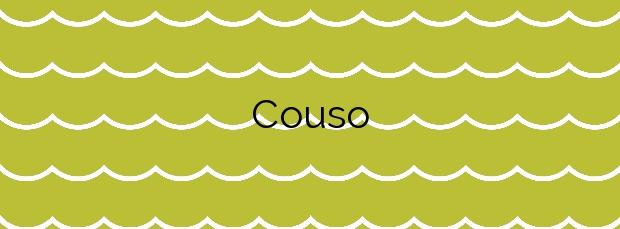 Información de la Playa Couso en Ribeira