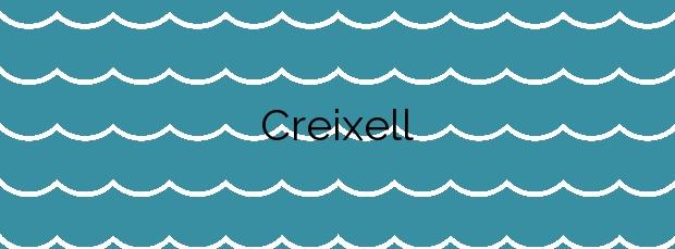 Información de la Playa Creixell en Creixell