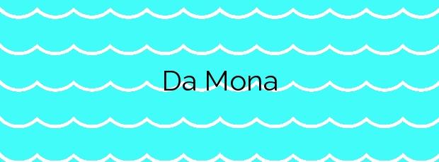 Información de la Playa Da Mona en Moaña