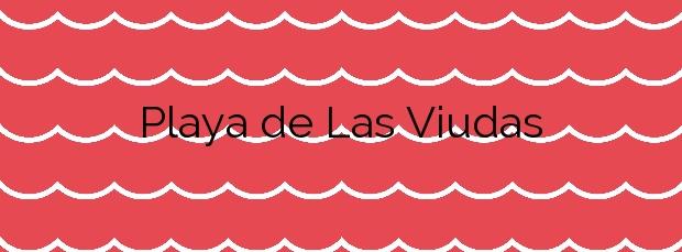 Información de la Playa de Las Viudas en Peñíscola