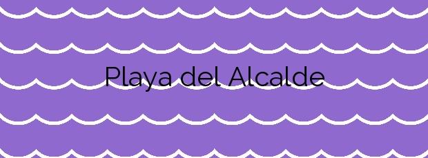 Información de la Playa del Alcalde en Candelaria