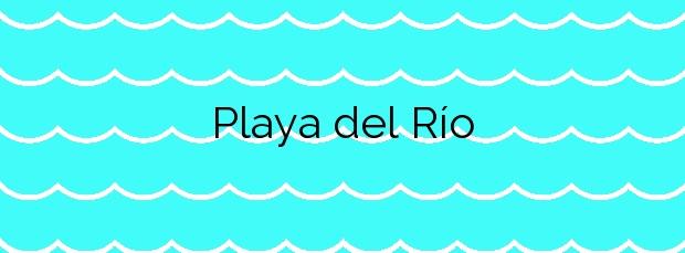 Información de la Playa del Río en Pilar de la Horadada