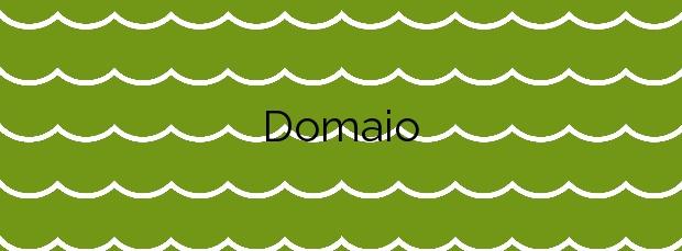 Información de la Playa Domaio en Moaña