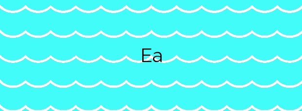 Información de la Playa Ea en Ea