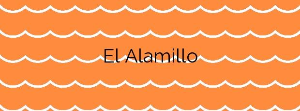 Información de la Playa El Alamillo en Mazarrón