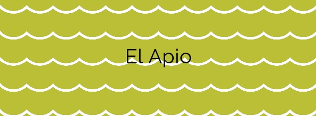 Información de la Playa El Apio en San Cristóbal de La Laguna