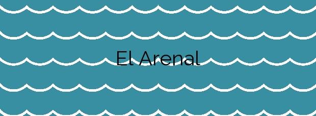 Información de la Playa El Arenal en Xàbia