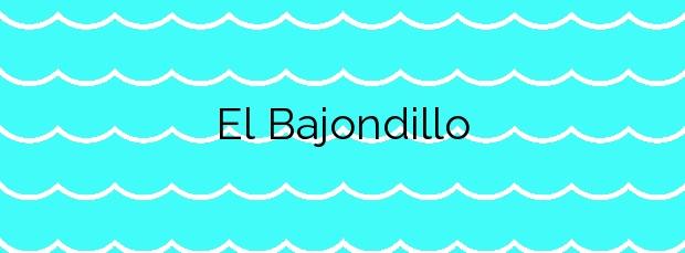 Información de la Playa El Bajondillo en Torremolinos