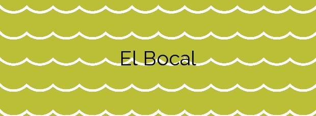 Información de la Playa El Bocal en Santander