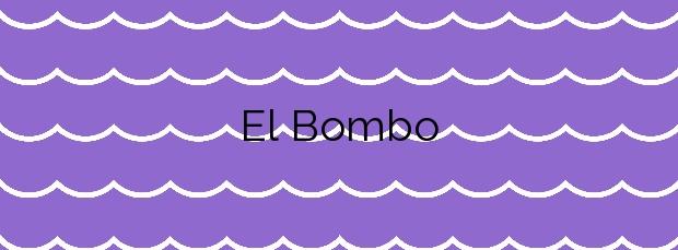 Información de la Playa El Bombo en Mijas