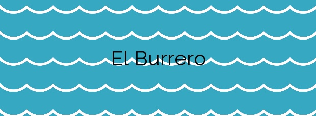 Información de la Playa El Burrero en Ingenio