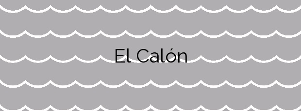 Información de la Playa El Calón en Cuevas del Almanzora