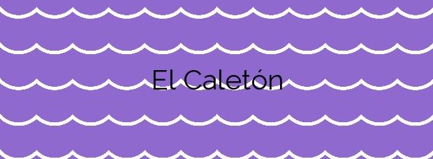 Información de la Playa El Caletón en La Matanza de Acentejo