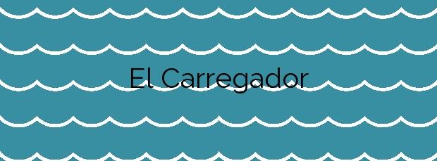 Información de la Playa El Carregador en Alcalà de Xivert