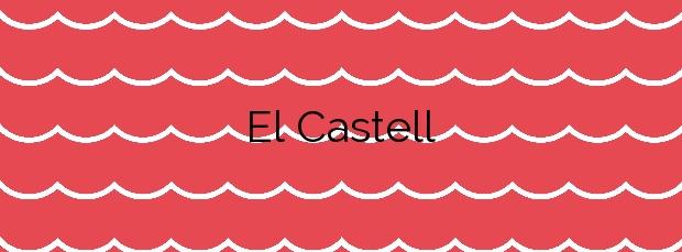 Información de la Playa El Castell en Palamós