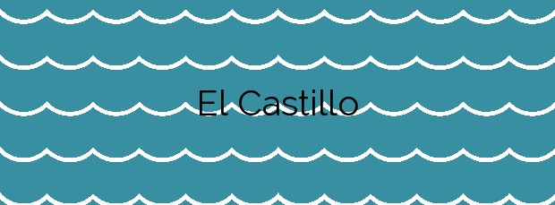 Información de la Playa El Castillo en San Fernando