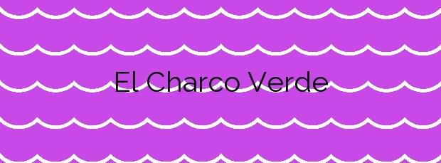 Información de la Playa El Charco Verde en Los Llanos de Aridane