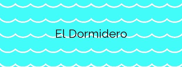 Información de la Playa El Dormidero en La Oliva