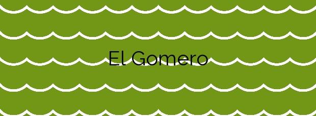 Información de la Playa El Gomero en Los Silos