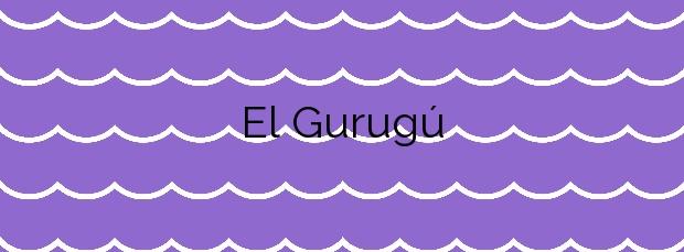 Información de la Playa El Gurugú en Castellón de la Plana