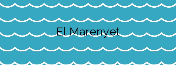 Información de la Playa El Marenyet en Cullera