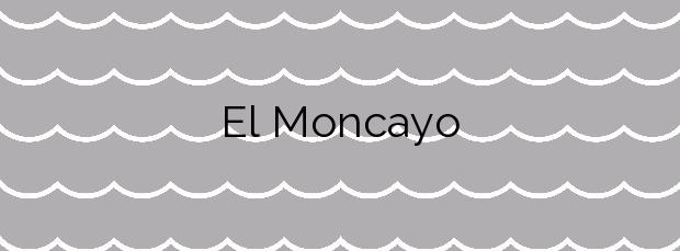 Información de la Playa El Moncayo en Guardamar del Segura