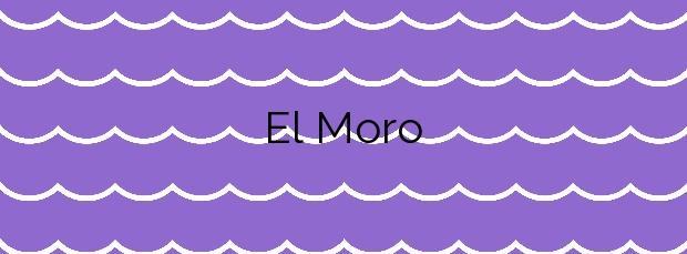 Información de la Playa El Moro en Alcalà de Xivert