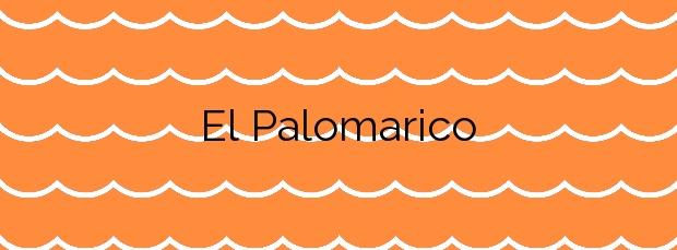 Información de la Playa El Palomarico en Mazarrón