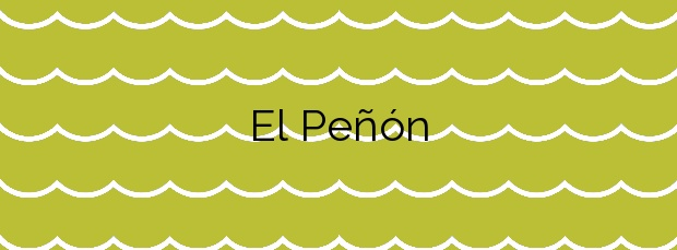 Información de la Playa El Peñón en Arucas