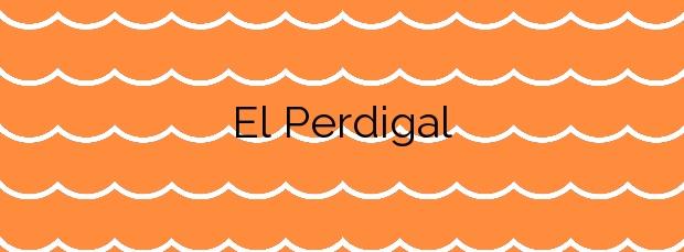 Información de la Playa El Perdigal en Almería