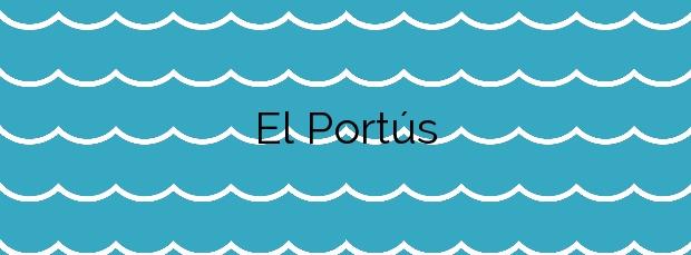 Información de la Playa El Portús en Cartagena