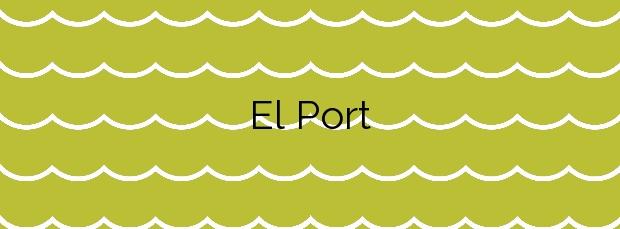 Información de la Playa El Port en Llançà