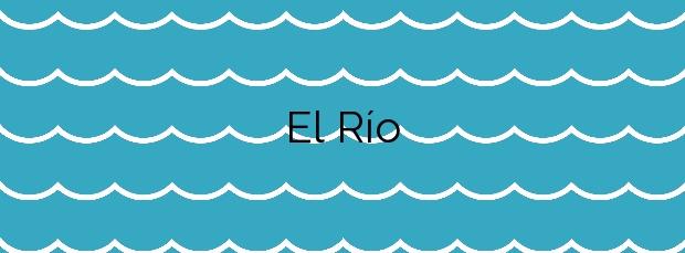 Información de la Playa El Río en Arico