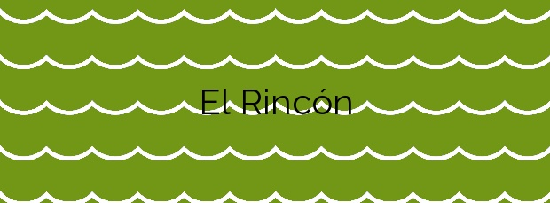 Información de la Playa El Rincón en Tacoronte