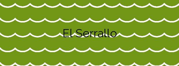 Información de la Playa El Serrallo en Sant Jaume d'Enveja