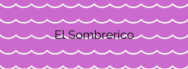 Información de la Playa El Sombrerico en Mojácar