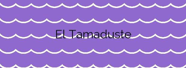 Información de la Playa El Tamaduste en Valverde