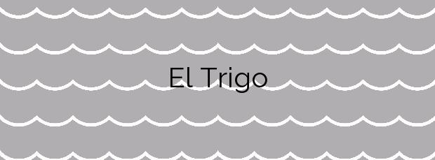 Información de la Playa El Trigo en Vallehermoso