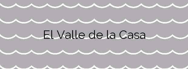 Información de la Playa El Valle de la Casa en Yaiza