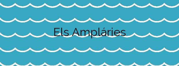Información de la Playa Els Ampláries en Oropesa del Mar