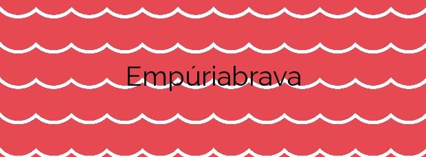 Información de la Playa Empúriabrava en Castelló d'Empúries