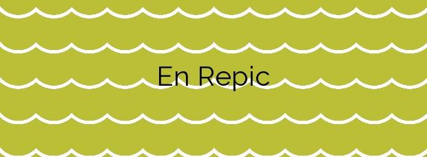 Información de la Playa En Repic en Sóller