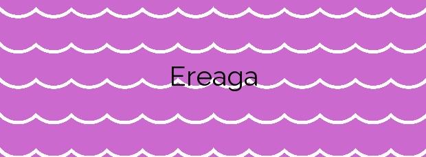 Información de la Playa Ereaga en Getxo