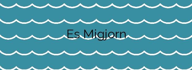 Información de la Playa Es Migjorn en Formentera