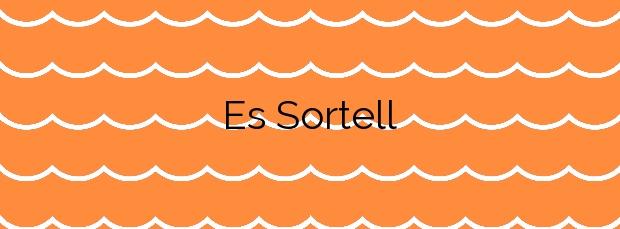 Información de la Playa Es Sortell en Cadaqués
